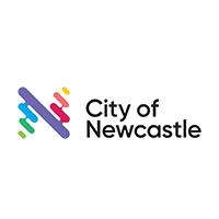 city of newcastle logo square tree